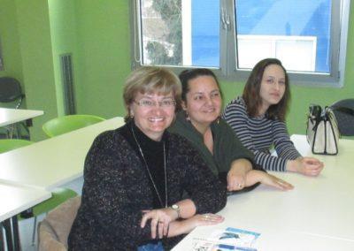 Knjižničarke na predavanju na EFOS-u