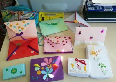 Ukrasne kutijice i omotnice od papira