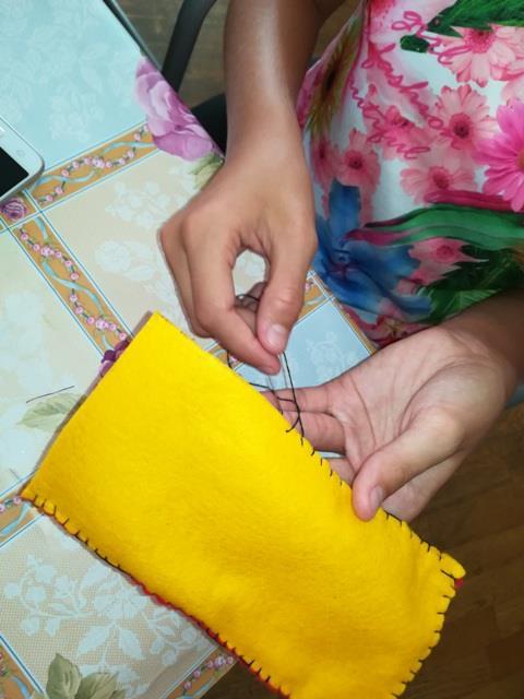 Šivanje torbica za mobitele