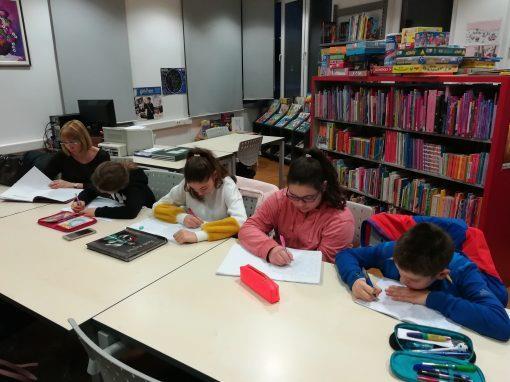 Radionica kreativnog pisanja u belišćanskoj knjižnici