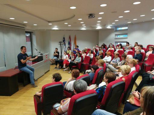 Bruno Šimleša drugi put u belišćanskoj knjižnici