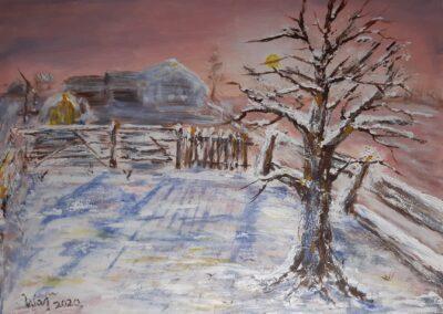 Prosinačka izložba slika Boje zime